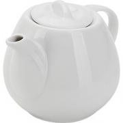 Чайник «Таир» фарфор; 450мл; белый