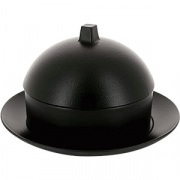 Набор димсам с крышкой и подставкой «Экинокс» D=22, H=13см; черный