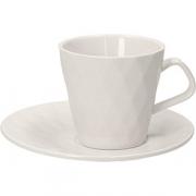 Набор чайный (4чашки +4блюдца) «Калейдос» фарфор