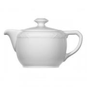 Чайник «Штутгарт», фарфор, 400мл, белый
