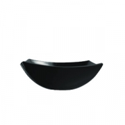 Салатник «Квадрато» черный 14*14см