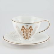 Набор 6 чайных пар 250 мл. «Роял Супрем Голд»