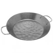 Сковорода для паэльи 2ручки; сталь; D=360,H=44мм