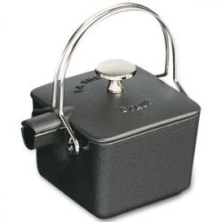 Чайник чугунный 0,5 л, цвет черный