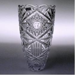 Ваза «TUKANA» 25 см; синяя упаковка; кристалайт