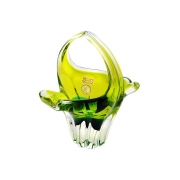 Корзинка 17 см EXOTIC изумрудно-оливковый