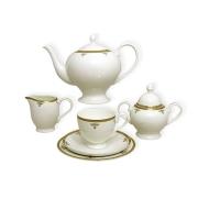 Чайный сервиз Ампир 40 предметов на 12 персон