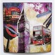 Постер Город-Англия 58х58см
