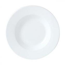 Блюдо кругл.глубок. 27см фарфор