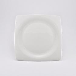 Набор 6 тарелок 16см «White Square»