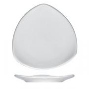 Тарелка треугольная «Опшенс», фарфор, L=25,B=25см, белый