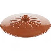 Крышка к порц. сков-де 4020213 D=150, H=75мм; коричнев.