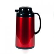 Термос метал. 1,0 л. со стеклянной колбой «Красный» ,Tiger