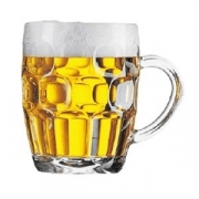 Кружка пивная «Британия», стекло, 570мл, D=13.5,H=12.4см