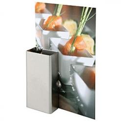 Подставка для меню 2шт. 8.5*6.2см металл