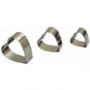 Набор конд.форм «Сердце» L=1.7,2.3,2.7 см [3шт]