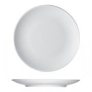 Тарелка мелкая «Опшенс», фарфор, D=26см, белый