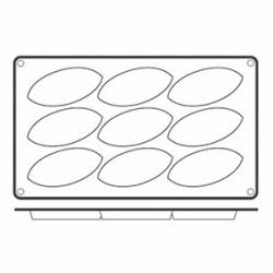 Форма для выпечки 17.5*30см силикон