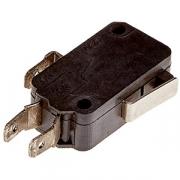 Микровыключатель H=10, L=40, B=15мм; черный, металлич.