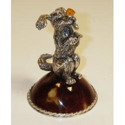 Сувенир «Собачка с сахаром»