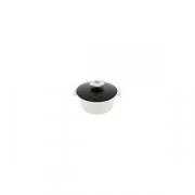 Кастрюля для сервировки с крышкой «Революшн» D=16.4, H=10.7см; черный