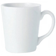 Кружка «Симплисити Вайт» фарфор; 262мл; белый