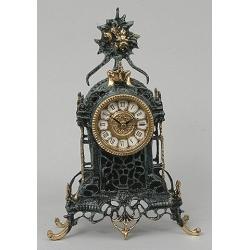 Часы цвет - синий 36х24см
