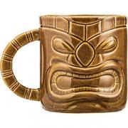 Кружка пивная «Тики» керамика; 450мл; коричнев.