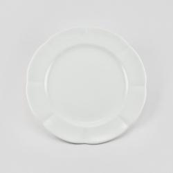 Набор 6 тарелок 16см «White»