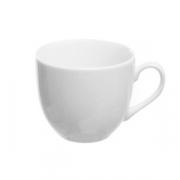Чашка кофейная «Перла», фарфор, 85мл, белый