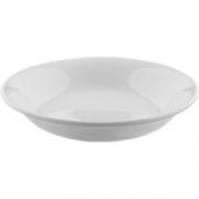 Тарелка для супа «Симплисити Вайт» D=19см; белый