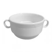 Бульонная чашка «Увертюра», фарфор, 340мл, D=11,H=6см, белый