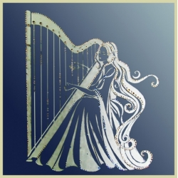 Муза гармонии(на зеркале)