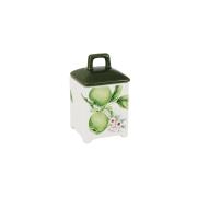 Банка для сыпучих продуктов Зеленые яблоки, малая