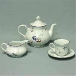 Чайный сервиз «Констанция» на 6 персон 17 предметов; декор «Гуси»
