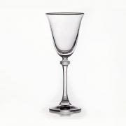 Набор бокалов 185 мл. 6 шт. «Александра Платина 432227»