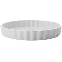 Блюдо круглое д/выпечки (Киш) Белая коллекция в подарочной упаковке