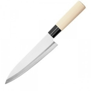 Нож кухонный «Шеф» двусторонняя заточка L=30/18см