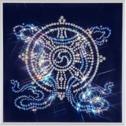 Колесо Фортуны,25х25 см, 843 кристаллов