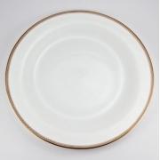Набор 6 тарелок подстановочных 28см «Золотая вышивка»