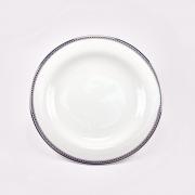 Набор 6 тарелок 16см «Серебрянная вышивка»