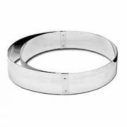 Кольцо развижное, сталь нерж., D=18/36,H=5см, металлич.