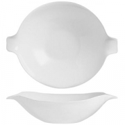 Тарелка для вок «Зеникс» D=285, H=68мм; белый