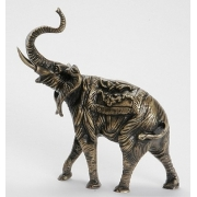 Слон индийский цвет - каштан 24х20 см 2460c