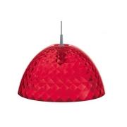 Подвесной светильник «Стелла М» (STELLA M) Koziol 43,5 x 43,5 x 23,6см (красный)