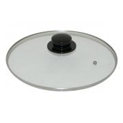 Domo D47WA2800 Крышка d28, жаропрочное стекло, лакированная пластиковая ручка