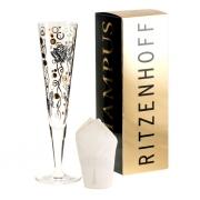 Бокал для шампанского + салфетка 0,2 л Ingrid Robers