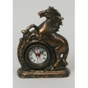 Часы «Лошадь» каштан 18х13 см.