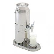 Диспенсер для молока, сталь нерж., 3л, H=40,L=20,B=33.6см
