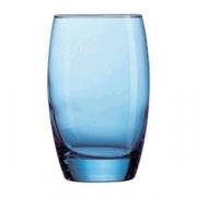 Хайбол «Сальто айсблю», стекло, 350мл, D=76,H=121мм, синий